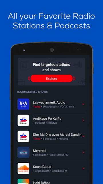 Zeno Haiti Radio screenshot 4