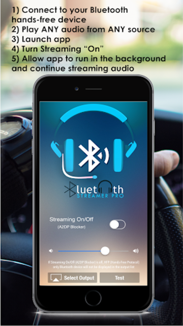 Bluetooth Streamer Pro: Stream Without Accessories screenshot 2