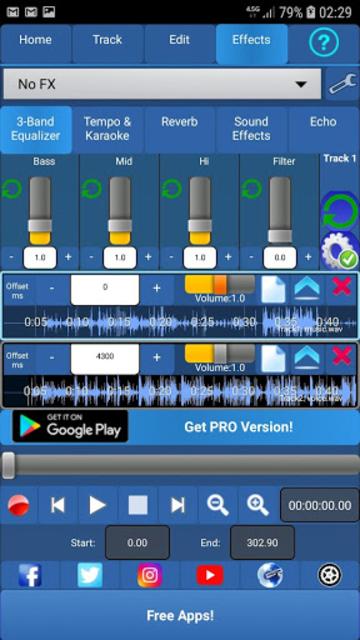 Audiosdroid Audio Studio DAW screenshot 2