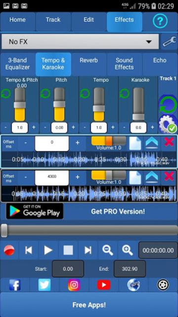 Audiosdroid Audio Studio DAW screenshot 3