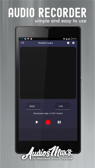 Audio Recording app screenshot 1