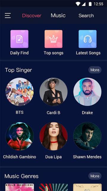 Free Music Player – Online & Offline MP3 Player screenshot 1