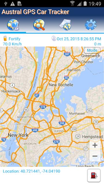 GPS Tracker Car TK SMS screenshot 1