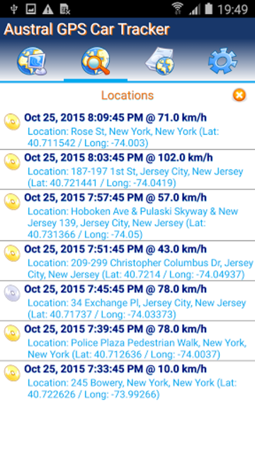 GPS Tracker Car TK SMS screenshot 2