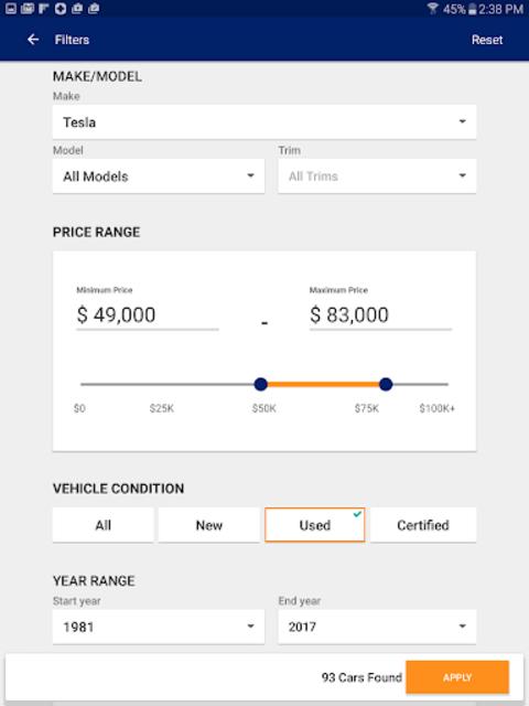 Autotrader - Cars For Sale screenshot 14
