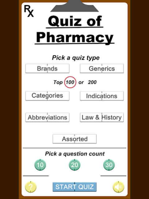 RX Quiz of Pharmacy - Study Guide & Test Prep screenshot 6
