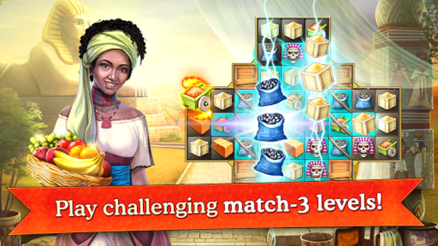 Cradle of Empires Match-3 Game screenshot 25
