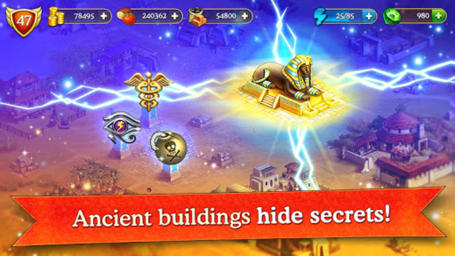 Cradle of Empires Match-3 Game screenshot 28