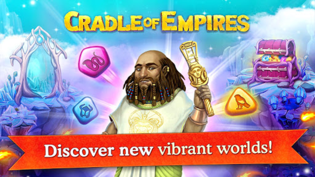 Cradle of Empires Match-3 Game screenshot 32