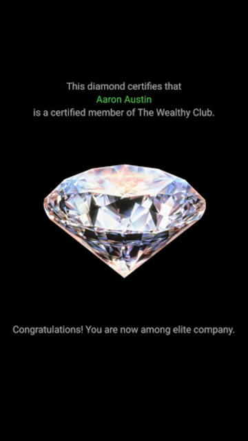 The Wealthy App screenshot 1