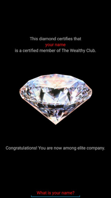 The Wealthy App screenshot 2