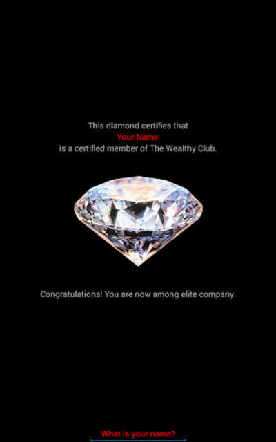 The Wealthy App screenshot 4