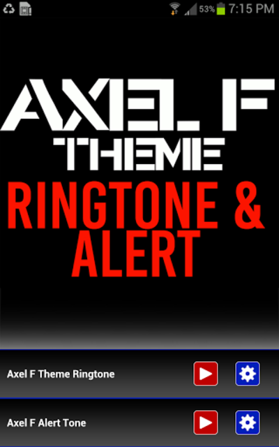 Axel F Ringtone and Alert screenshot 1