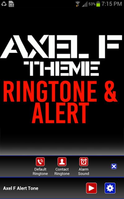 Axel F Ringtone and Alert screenshot 2