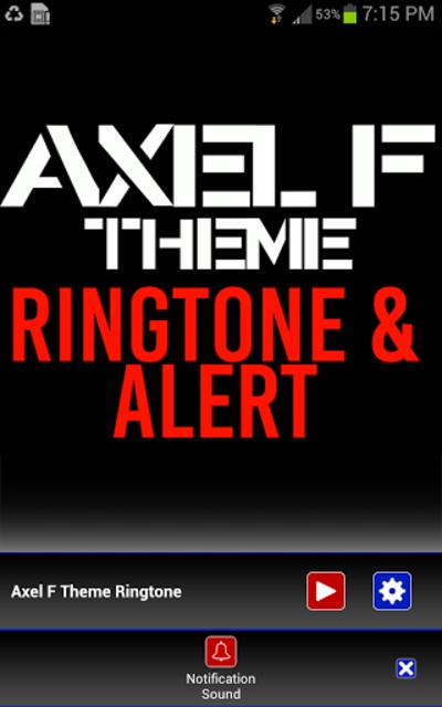 Axel F Ringtone and Alert screenshot 3