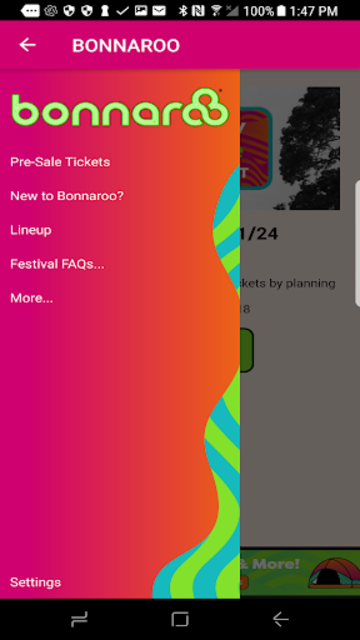 Bonnaroo screenshot 2
