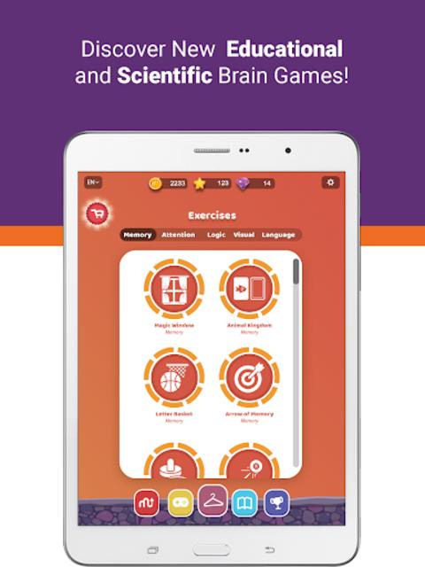 MentalUP – Brain Games screenshot 13