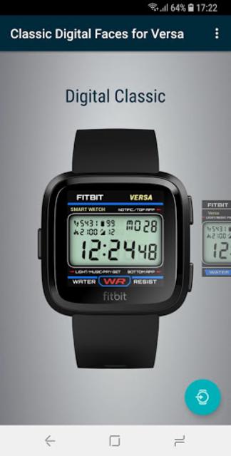 Classic Digital Faces - Watchface for Fitbit Versa screenshot 4