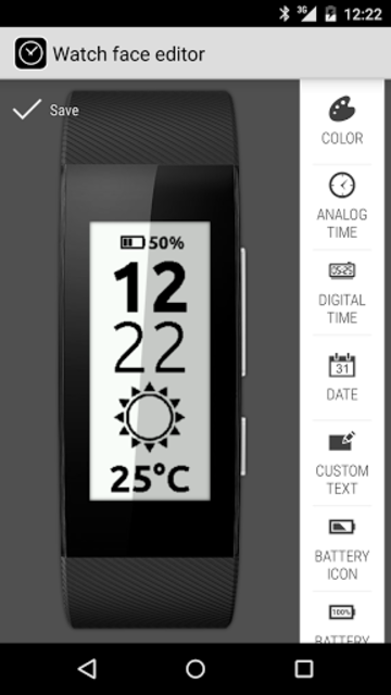 Clocki for SmartBand Talk screenshot 2