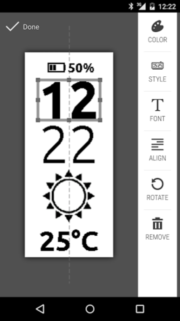 Clocki for SmartBand Talk screenshot 3