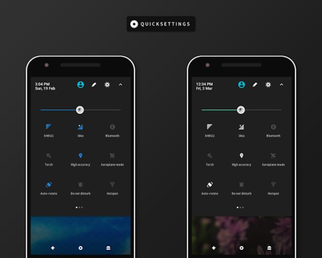 RubiQ Substratum Theme screenshot 1