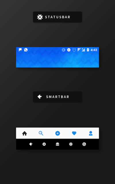 RubiQ Substratum Theme screenshot 15