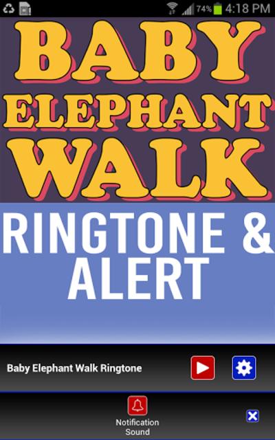 Baby Elephant Walk Ringtone screenshot 1