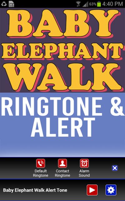 Baby Elephant Walk Ringtone screenshot 2