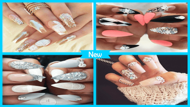 Gorgeous Glittery Nail Gems screenshot 1