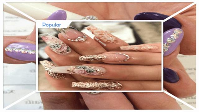 Gorgeous Glittery Nail Gems screenshot 4