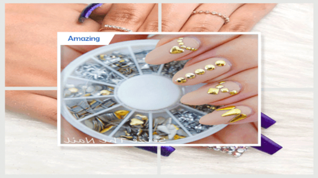 Gorgeous Glittery Nail Gems screenshot 5