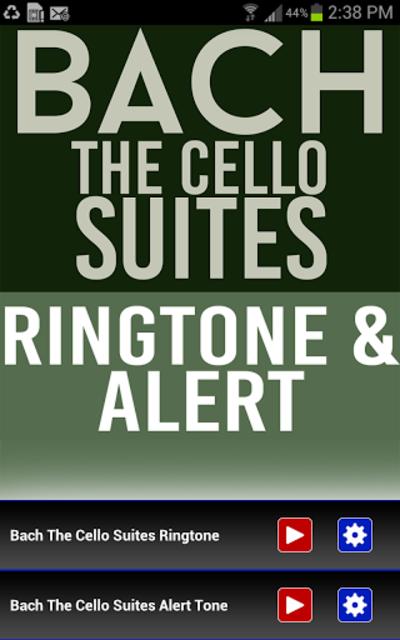 Bach The Cello Suites Ringtone screenshot 1