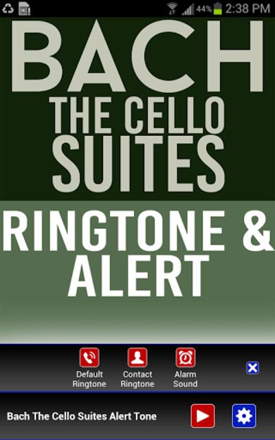 Bach The Cello Suites Ringtone screenshot 2