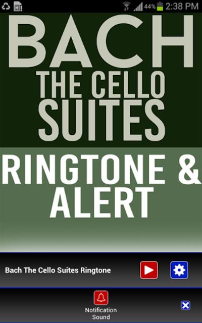 Bach The Cello Suites Ringtone screenshot 3