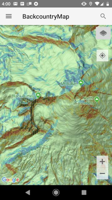 Backcountry Map screenshot 1