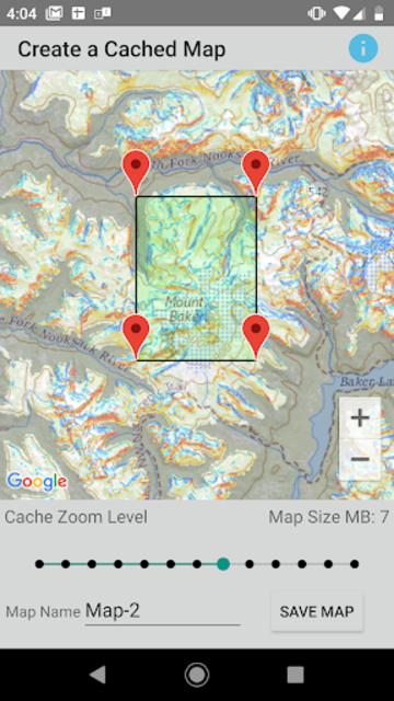 Backcountry Map screenshot 2