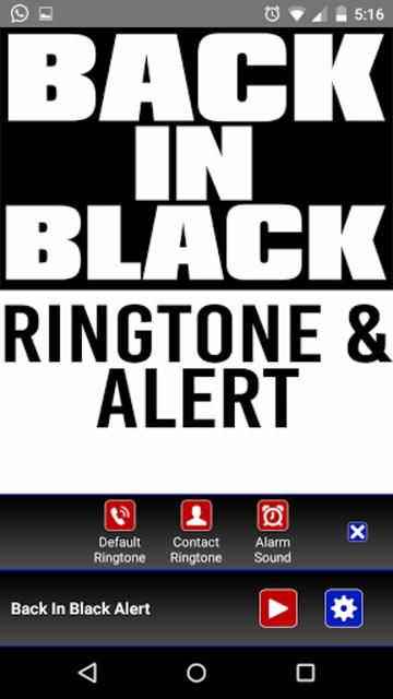 Back in Black Ringtone & Alert screenshot 2