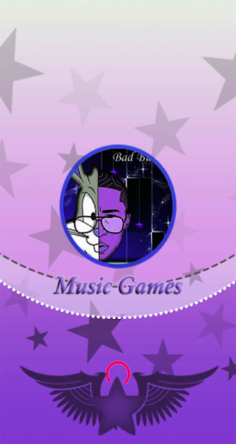 Bad Bunny Piano Game Tile screenshot 1