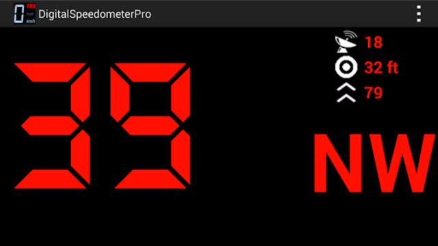 Digital Speedometer Pro screenshot 1
