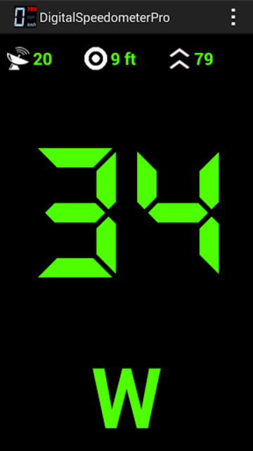 Digital Speedometer Pro screenshot 3