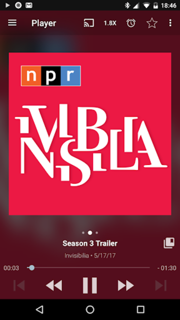 Podcast Addict screenshot 1