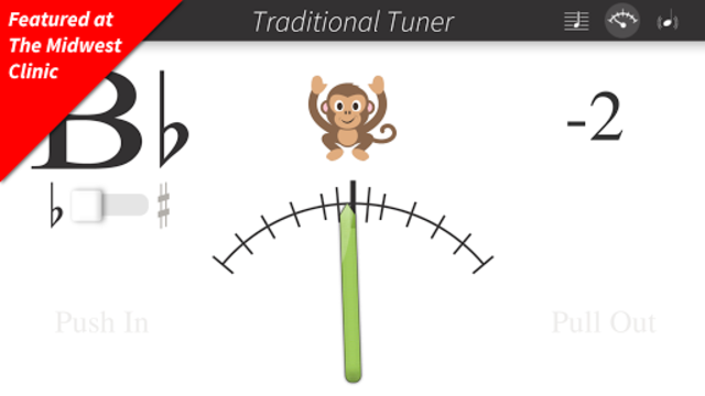 Bandmate Chromatic Tuner Pro screenshot 1