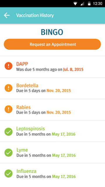 Banfield Pet Health Tracker screenshot 6