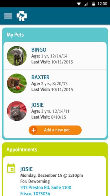 Banfield Pet Health Tracker screenshot 2