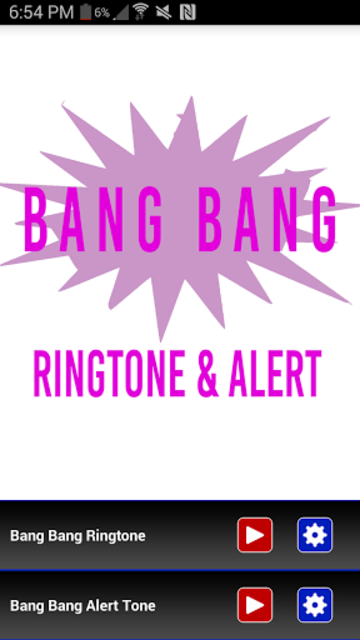 Bang Bang Ringtone screenshot 1