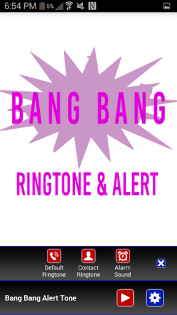 Bang Bang Ringtone screenshot 2