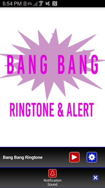 Bang Bang Ringtone screenshot 3