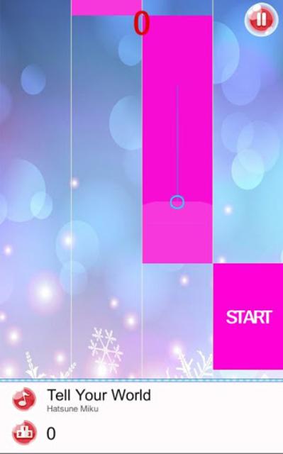 🎹 Anime Piano Tiles - Hatsune, Pripara, SAO Songs screenshot 4