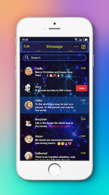 Messenger L SMS, MMS screenshot 6