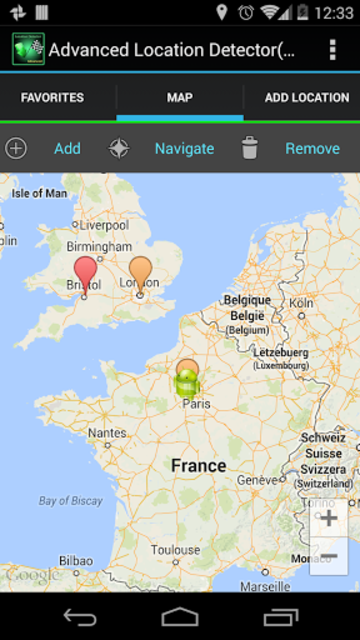 AdvancedLocationDetector (GPS) screenshot 4